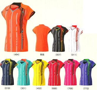 15 SS특웨어 요넥스 레이디스 셔츠(슬림 롱 피트 타입) 20235하는 패킷 대응 배드민턴 테니스 웨어 셔츠 반소매 womens 레이디스 여성용 2015년 봄여름 모델