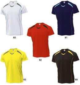 【取寄品】 ウンドウ バレーボールシャツP-1610 バレーボール Tシャツ プラクティスシャツ 練習着 半袖ユニセックス 男女兼用wundou 2015年モデル ゆうパケット(メール便)対応 ラッキーシール対応