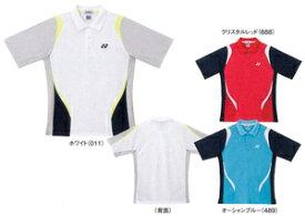 【返品・交換不可】ヨネックス ゲームシャツ ポロシャツ Sサイズ 10071 ユニセックス【ゆうパケット対応】【アウトレット】