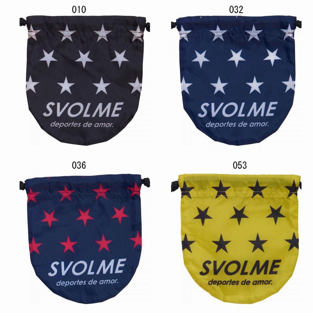 【在庫品】スボルメ スター小物袋 スポーツ トレーニング マルチケース 小物入れ Svolme 2017AW ゆうパケット(メール便)対応