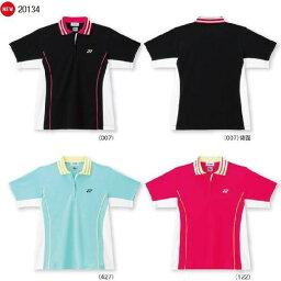 供支持優乃克女士襯衫(常規型)20134 yuu分組的羽球網球服裝襯衫短袖婦女分歧D女性使用