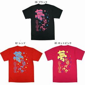 ミズノ 限定Tシャツ 夢に近づけ!!日々成長 32JAE701 オールスポーツ 文字入りTシャツ 部活Tシャツ ユニセックス 2017SS ゆうパケット(メール便)対応