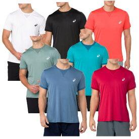アシックス Tシャツ ショートスリーブトップ 154405 メンズ 2018SS テニス ゆうパケット(メール便)対応 ラッキーシール対応