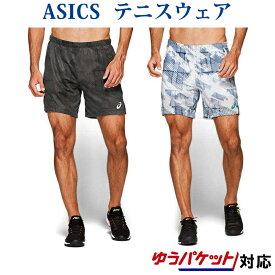 アシックス CLUB グラフィックショーツ 2041A060 ハーフパンツ メンズ 2019AW テニス ゆうパケット(メール便)対応 半ズボン