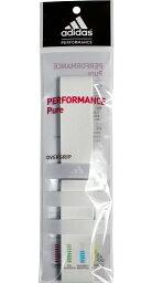 支持愛迪達握柄帶子PERFORMANCE PURE(表現純)1條裝GPPAFORPURE-up1 yuu分組()的羽球網球拍運動握柄帶子adidas 2013年型號