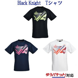最大450円OFFクーポン付 ブラックナイト BK Tシャツ T-9120 メンズ ユニセックス ジュニア 2019SS バドミントン ゆうパケット(メール便)対応 【メール便2点まで】