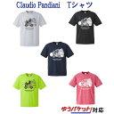 バドミントン ジャンキー クラウディオ・パンディアーニ 半袖 Tシャツ バドカー+3 DRYTEE メンズ ユニセックス BD…