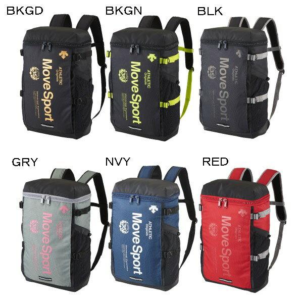 【在庫品】 デサント スクエアバックパック DAC-8723 スポーツ バッグ かばん リュック 収納 DESCENTE2017SS move sport ムーブスポーツ