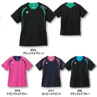 데산트 반소매 라이프 게임 셔츠 DSS-5421 W발리볼 발레 반소매 레이디스 womens 여성용 DESCENTE 하는 패킷 대응