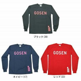 【在庫品】 ゴーセン 2016年夏企画ソフトテニス長袖Tシャツ 3倍速 J16P17 ユニセックス Tシャツ ソフトテニス ロングスリーブ Gosen