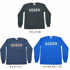 ゴーセン 2016年夏企画ソフトテニス長袖Tシャツ 狙い撃ち J16P18 ユニセックス Tシャツ ソフトテニス