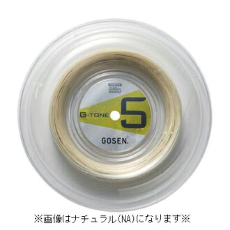 And writer Gee tones 5 G-TONE 5 200 m rolls BS0652 badminton gut string roles