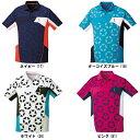 【在庫品】 ゴーセン ユニ 星柄ゲームシャツT1712バドミントン テニス ソフトテニス 半袖 ユニフォーム ユニセックス …