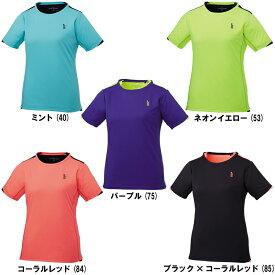 ゴーセンレディース T1719バドミントン テニス ポロシャツ ユニフォーム ウエア女性用 半袖 GOSEN 2017AW ゆうパケット(メール便)対応 ラッキーシール対応