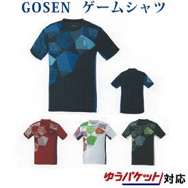ゴーセン ゲームシャツ T1906 メンズ 2019SS バドミントン テニス ゆうパケット(メール便)対応 2019最新 2019春夏
