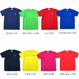 【在庫品】 ゴーセン 2016年夏企画Tシャツ ワンポイント(半袖) J16P21 ユニセックス Tシャツ バドミントン ソフトテニス 硬式テニス GOSEN