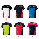 【在庫品】 【在庫品】ミズノ Tシャツ 32JA6022 バドミントン テニス シャツ 半袖 メンズ ユニセックス 男女兼用 MIZUNO2016年春夏モデル