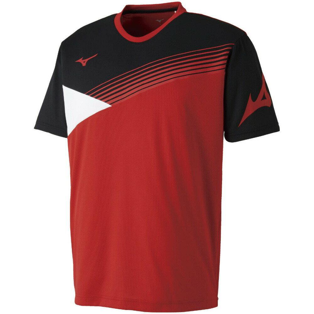 【在庫品】 ミズノ Tシャツ 62JA8006メンズ 2018SS バドミントン テニス ゆうパケット(メール便)対応