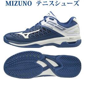 あす楽 ミズノ テニスシューズ ウエーブエクシード TOUR 4 AC 61GA207027 オールコート用 メンズ ユニセックス 2020SS テニス ソフトテニス 同梱不可 RFCL