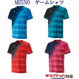 ミズノ ゲームシャツ 62JA9506 メンズ ユニセックス 2019AW バドミントン テニス ソフトテニス ゆうパケット(メール便)対応 半袖
