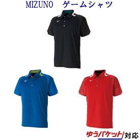 ミズノ ゲームシャツ 62JA9507 メンズ ユニセックス 2019AW バドミントン テニス ソフトテニス ゆうパケット(メール便)対応 半袖