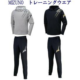 ミズノ スウェットシャツ・パンツ上下セット V2MC9501-V2MD9501 メンズ ユニセックス 2019AW バレーボール
