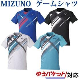 ミズノ ゲームシャツ 62JA0503 2020AW ユニセックス バドミントン テニス ソフトテニス ゆうパケット(メール便)対応