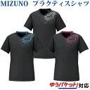 ミズノ ブレーカーシャツ(半袖) V2ME0111 メンズ ユニセックス 2020SS バレーボール ゆうパケット(メール便)対応 半…