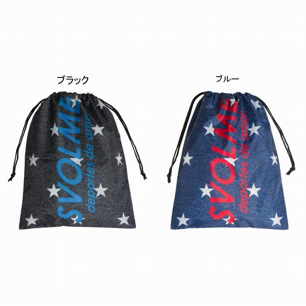 【在庫品】スボルメ 星柄デニムシューズ袋 181-69029 2018SS