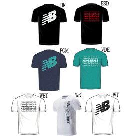 ニューバランス グラフィック ヘザーテックT AMT93083 メンズ 2019AW スポーツ トレーニング ゆうパケット(メール便)対応 半袖 Tシャツ