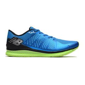 ニューバランスFUEL CELL M BL ブルー/ライムMFLCLBLランニング ジョギング マラソン レーシング シューズNew Balance 2017AW