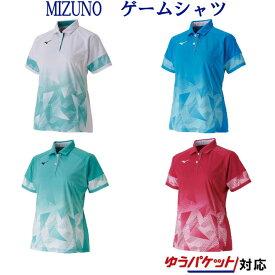 ミズノ ゲームシャツ(ウィメンズ) 62JA9706 レディース 2019AW バドミントン テニス ソフトテニス ゆうパケット(メール便)対応