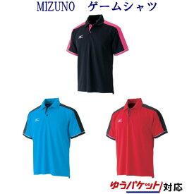 【返品・交換不可】ミズノ ゲームシャツ A75HB-305 メンズ ユニセックス 2013SS バドミントン テニス ソフトテニス 【アウトレット】 wearsale ゆうパケット(メール便)対応