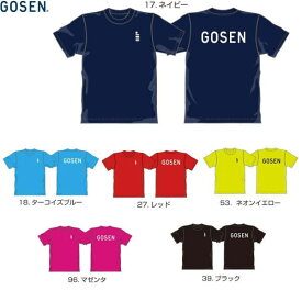 ゴーセン 2019年春企画Tシャツ ワンポイントロゴ jpt01 ゆうパケット(メール便)対応 【メール便2点まで】