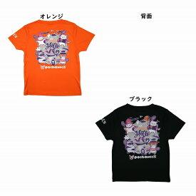 ゴーセン 2019年秋企画Tシャツ ぽちゃネコ ハロウィーン バドミントン NPT18 2019AW