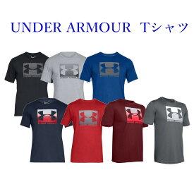 アンダーアーマー Tシャツ UAボックス スポーツスタイル ショートスリーブ 1358569 メンズ 2020SS ゆうパケット(メール便)対応