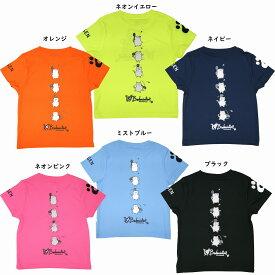 ゴーセン 2020年春企画Tシャツ ぽちゃねこ バドミントン4コマ NPT25 2020SS