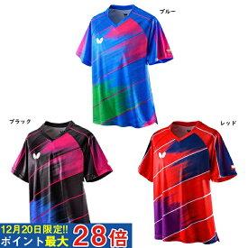 【取寄品】 バタフライ ディアゴナル・シャツ 45620 卓球 20SS ユニセックス