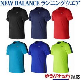 ニューバランス ランニングTシャツ AMT73061 2018SS ゆうパケット(メール便)対応