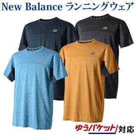 ニューバランス Tシャツ R360 ヘザーグラフィックショートスリーブTシャツ JMTR8615 メンズ 2018AW ランニング ゆうパケット(メール便)対応 2018新製品 2018秋冬 ラッキーシール対応