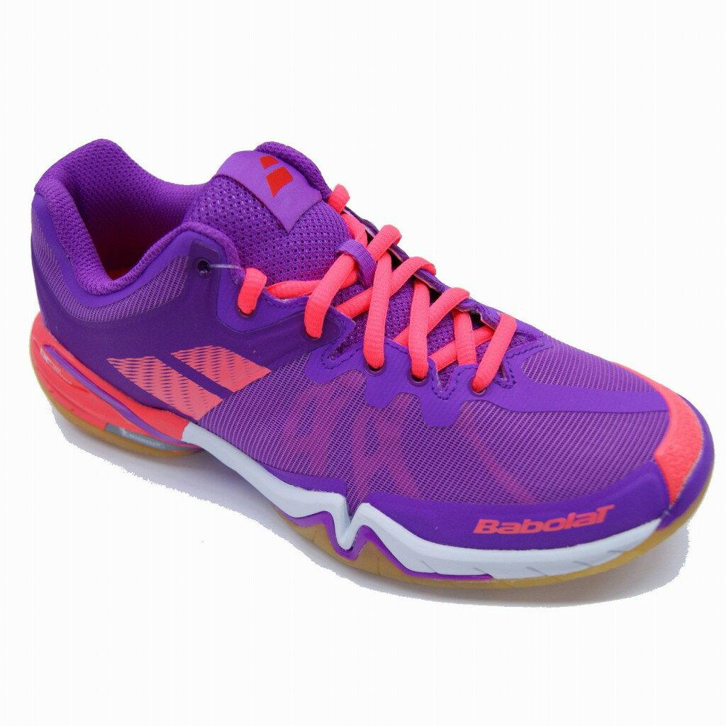 【在庫品】 バボラ バドミントンシューズ シャドウ ツアー ウィメンズ BASF-1686 バドミントン シューズ 靴 レディース 女性用 Babolat 2016SS