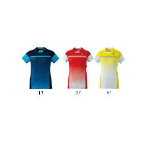 【在庫品】ゴーセンレディースゲームシャツT1605バドミントンテニス半袖レディース女性用GOSEN2016年春夏モデルゆうパケット対応