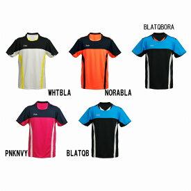 ブラックナイト ゲームウェアT-7560ゆうパケット(メール便)対応 バドミントン ウエア ゲームシャツ 半袖 シャツ メンズ ユニセックスBlackKnight