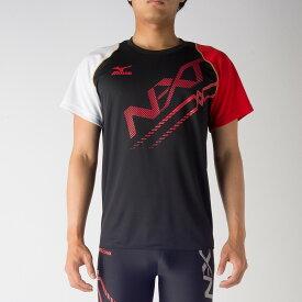 最大5%OFFクーポン付 ミズノ N-XT プラクティスシャツ U2MA7020 スポーツ トレーニング 半袖 メンズ ユニセックスMIZUNO 2017SS ゆうパケット(メール便)対応 限定品