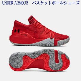 アンダーアーマー UAスポーン アナトミックスLow 3021263-603  メンズ 2019SS バスケットボール