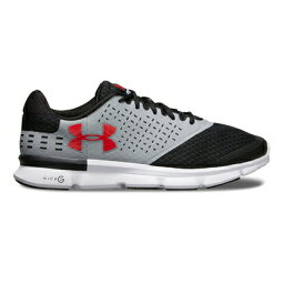 andaama UA Micro G Speed Swift 2 2E STEEL/BLACK/RED 1285983-100跑步跑步馬拉松鞋UNDER ARMOUR 2017年秋冬季款