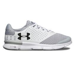 andaama UA Micro G Speed Swift 2 2E WHITE/OVERCAST GRAY/BLACK 1285983-101跑步跑步馬拉松鞋UNDER ARMOUR 2017年秋..