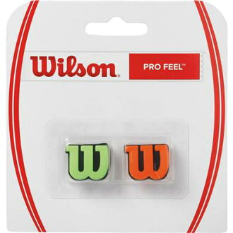 WRZ538700 tennis racket sports vibration stopper accessories Wilson spring of 2017 summer model with professional player Wilson feel green / orange vibration stopping two