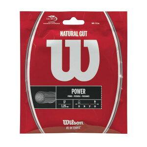 ウイルソン ナチュラルガット 17 wrz999900 硬式テニス テニス ストリング ガット Wilson 2017SS