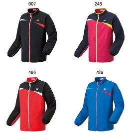 ヨネックス UNI ウォームアップシャツ 50068 バドミントン テニスウエア トレーニング ジャケットメンズ ユニセックス YONEX 2017SS ラッキーシール対応